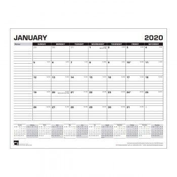 Monthly Desktop Calendar
