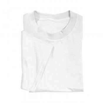 Tee Shirt, Poly Blend (White)
