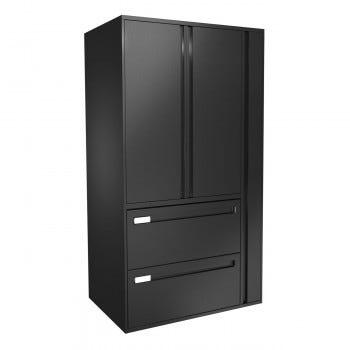 Metal Storage Cabinet, Right Wardrobe (CIK36242DRHHD)