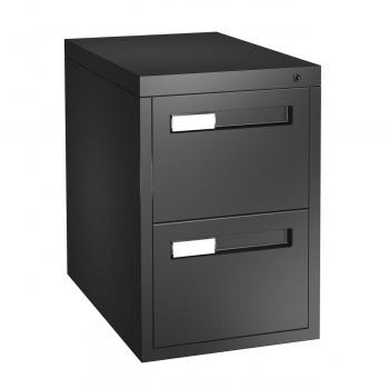 Metal Vertical File Cabinet (CIV15302DFB)