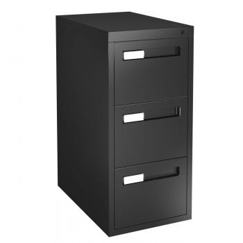 Metal Vertical File Cabinet (CIV15303DFB)