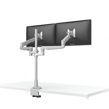Evolve228-FM Dual Monitor Arm (Silver)