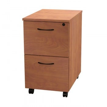 Versa Mobile Pedestal File, 2 Drawer File/File