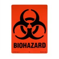 Biohazard Label (S-0070-B)
