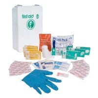 Wall Mount First Aid Kit, Large (S-FAK-PMCC-L)