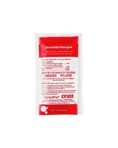 pH Neutral Germicidal Detergent, 3 pacs (CP201)