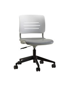 Grazie Task Chair (Poly Back w/Upholstered Seat)
